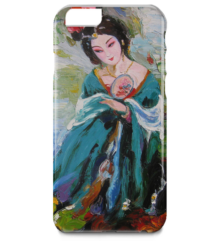 Classic Chinese Women Oil Painting iPhone 6 Plus Case