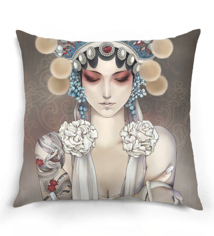 Anime Chinese Opera Pillow