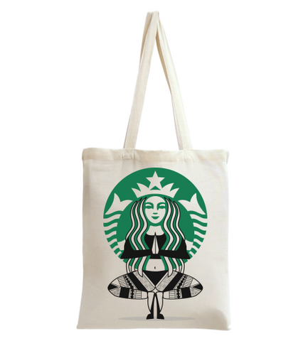 Star Bux Yoga Style 1 Tote Bag