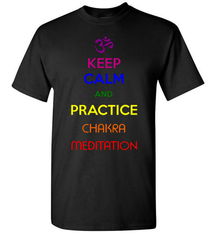 Keep Calm Meditation Unisex Tee