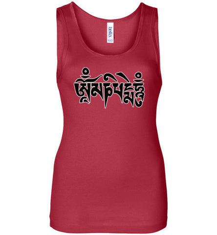Om Mani Tattoo Women's Tank