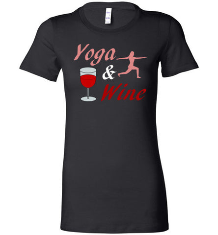 Yoga & Wine Women's Tee