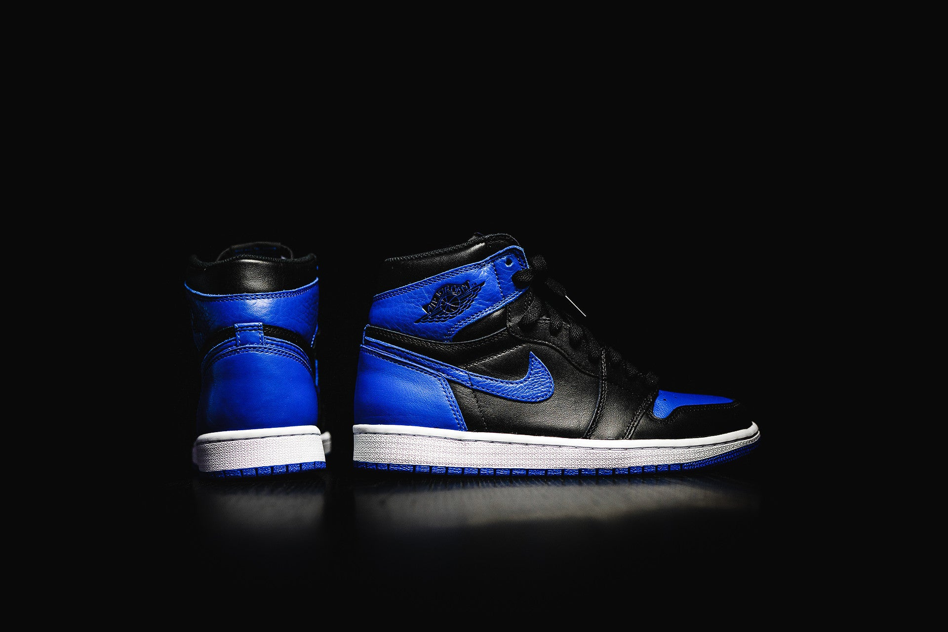 reputable site b2265 7484f The Air Jordan 1 Retro High OG Royal – DIPSTREET