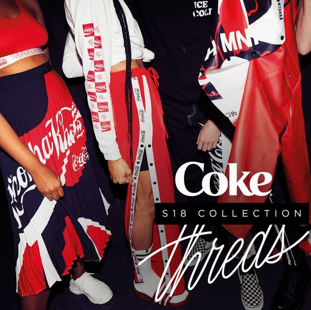 Coke Threds S18 Collection