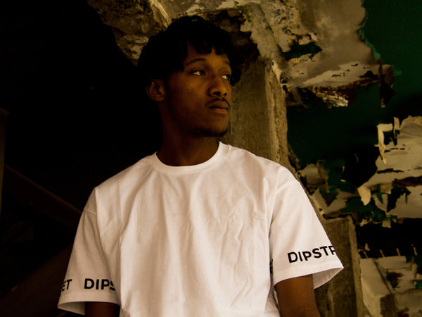 Dipstreet Aesthetics Sleeve Logo Tee Lookbook