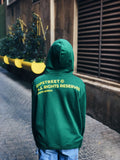 DIPSTREET AW18 Shoelace Hoodie - Green