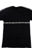 DIPSTREET AESTHETICS Black Tape Short Sleeve Tee