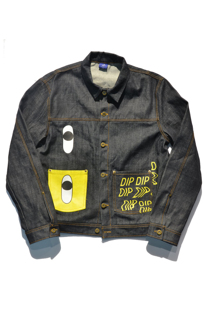 DIPSTREET SITW Art Denim Jacket