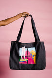 DIPSTREET SITW Denim Art Shopper