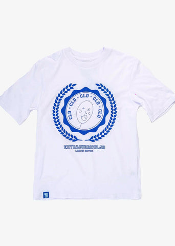 CLD x Thebe Magagu Short sleeve T-shirt- White