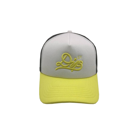 DIPSTREET SHOELACE FOAM  TRUCKER Yellow/Black