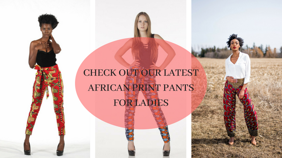 Check Out Our Latest African Print Pants for Ladies