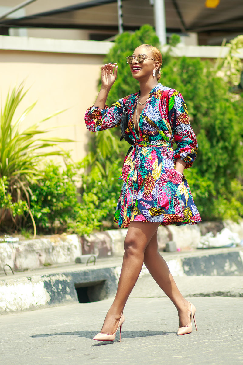 Amaechi dress(Pre order ships from April 30th)