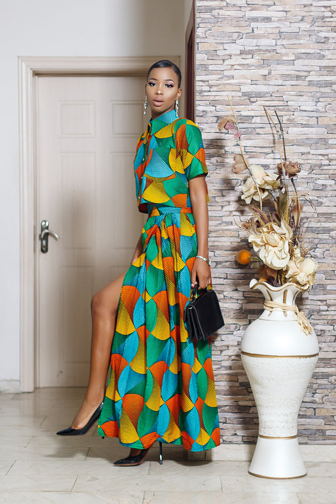 Omoye 2 piece set