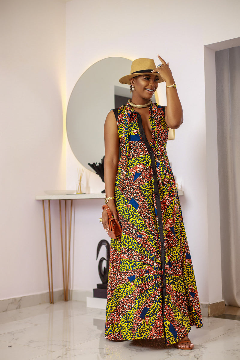 Dammy Maxi dress