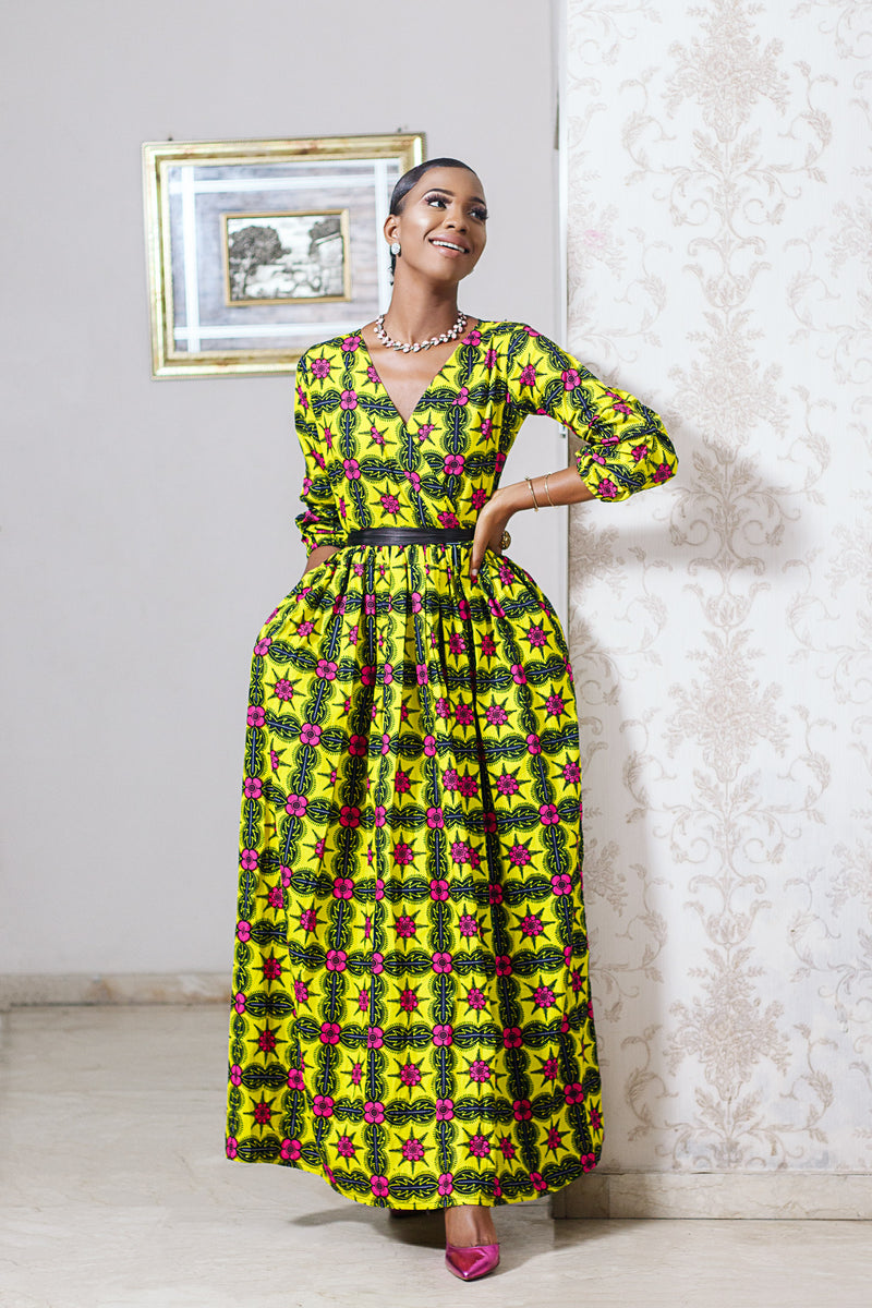 BIODUN  maxi dress