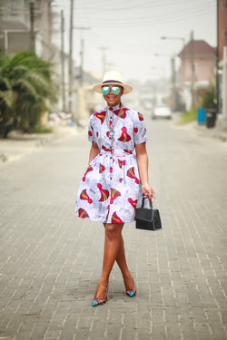 Adaoma shirt dress