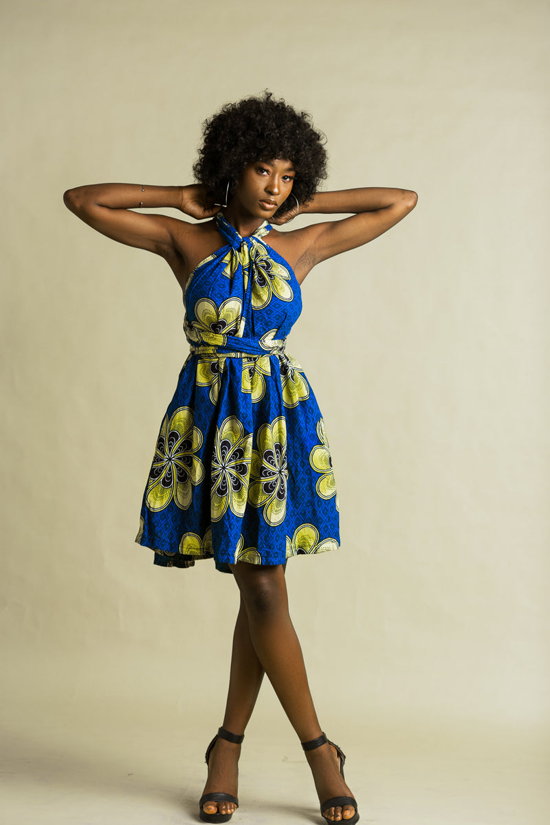 Ogoamaka infinity dress