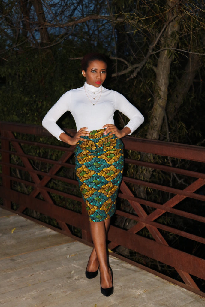 KAMILI PENCIL SKIRT