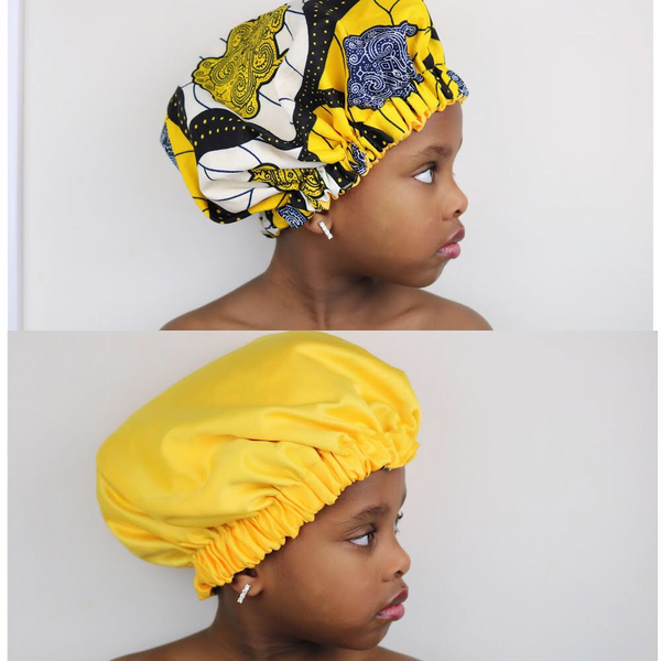 'Ore' kids hair bonnet