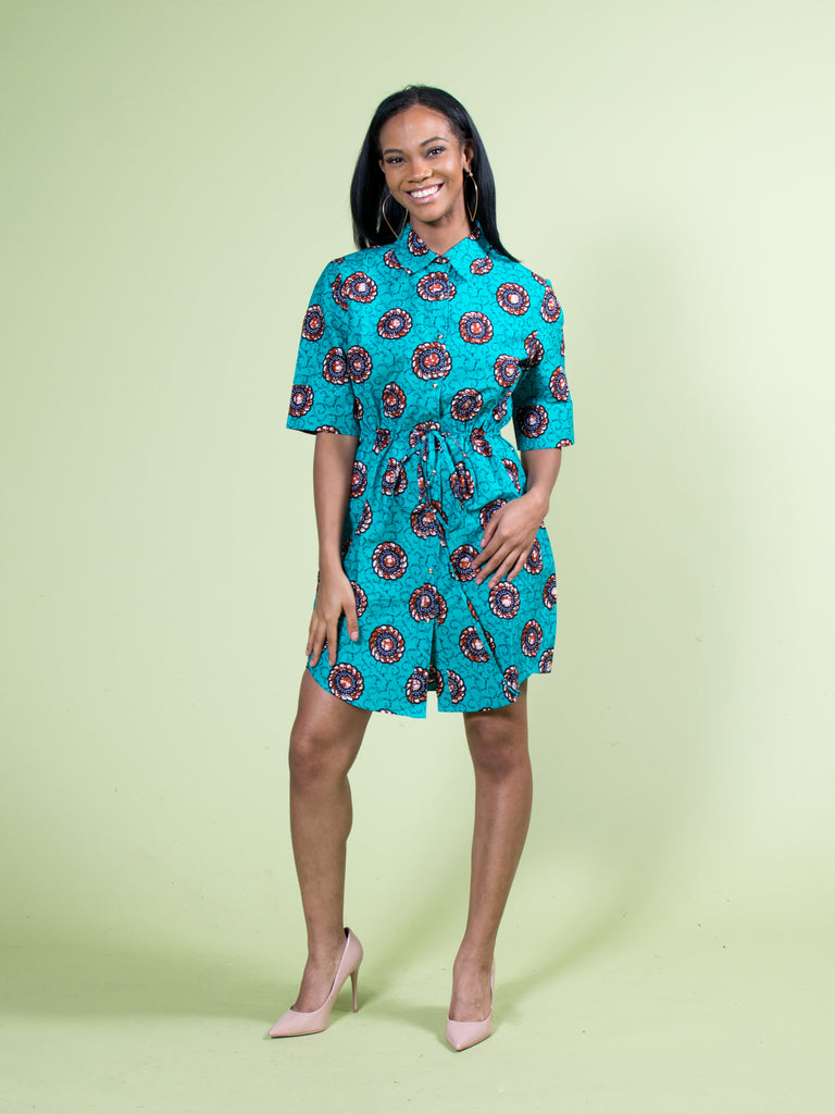 A-KECHI SHIRT DRESS