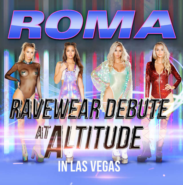 Rave Wear Debut at Altitude Las Vegas