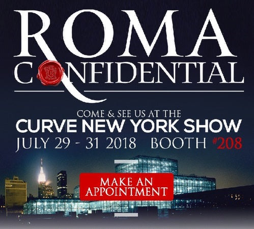 Roma Costume Confidential at Curve New York Trade Show