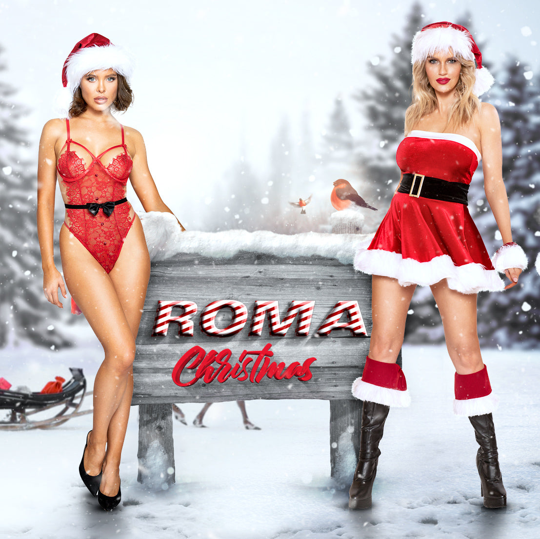 Roma Costume and Roma Confidential 2019 Christmas collection for bulk wholesale and world wide drop shipping!