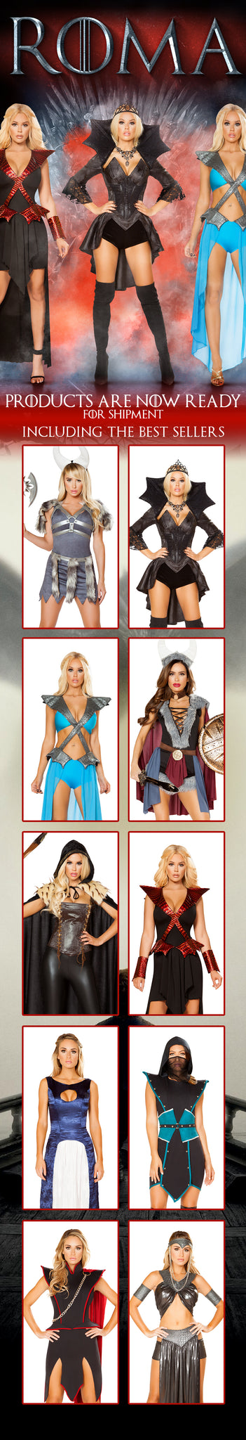 Roma Costume Collection Game of Thrones Email Blast