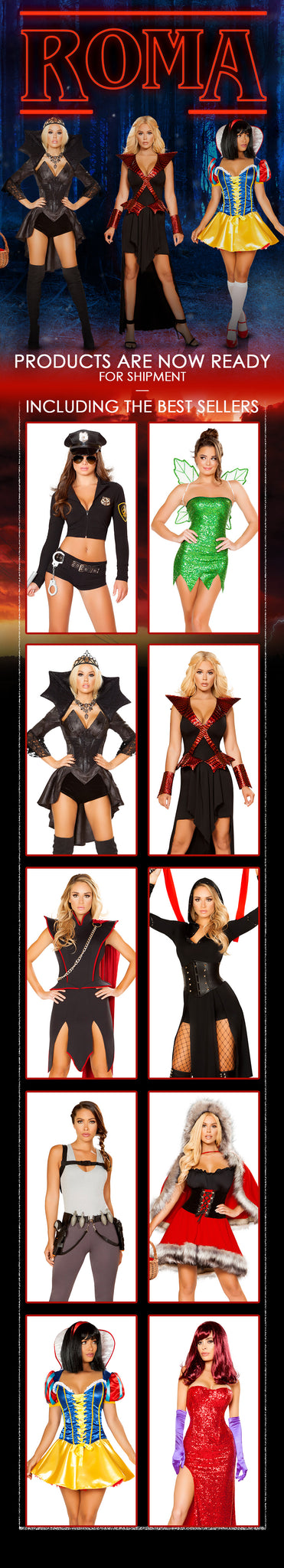 Roma's 2018 Halloween Costume Collection