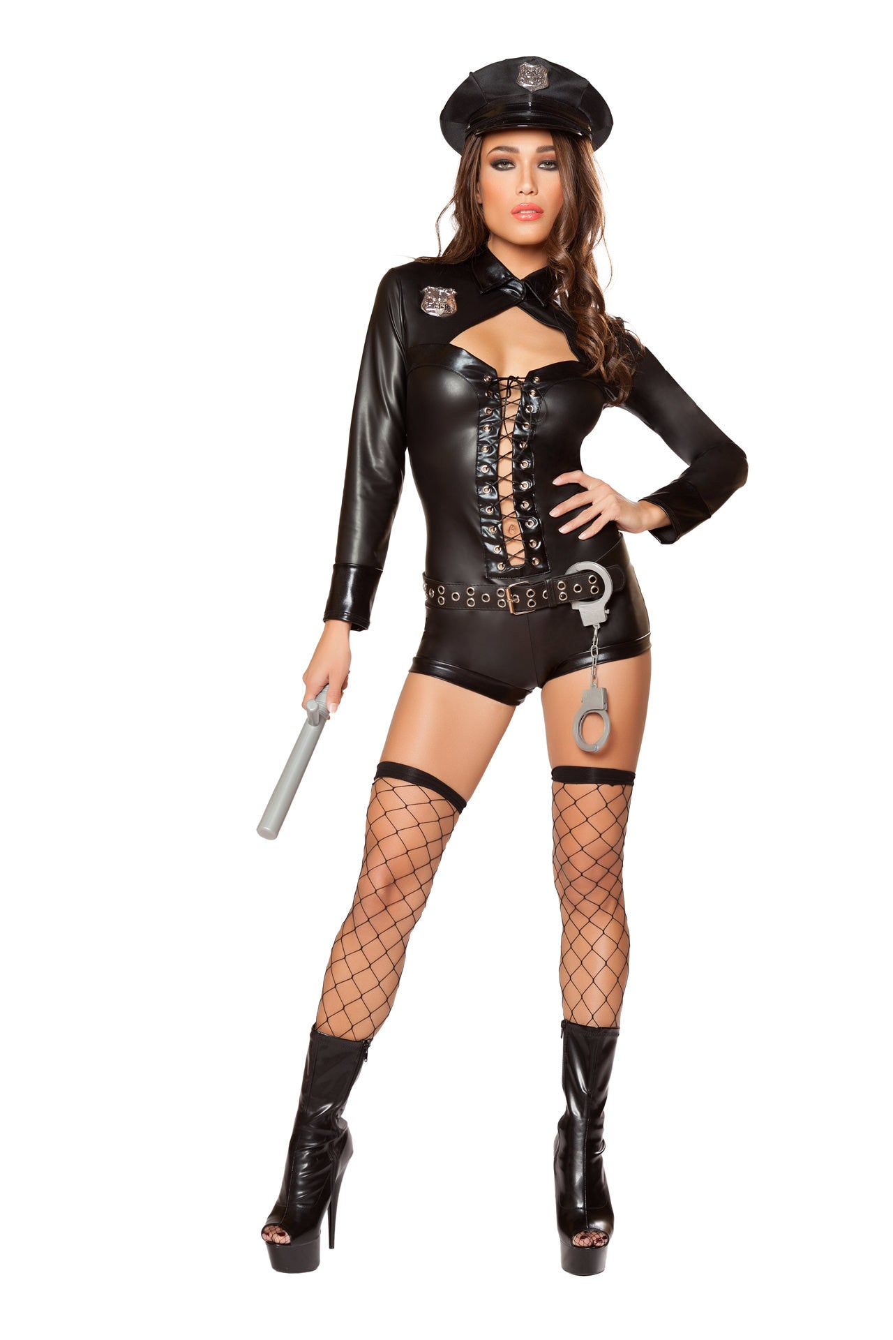 10064 - 6pc Code 4 Police ${description} | Roma Costume and Roma Confidential wholesale manufacturer of Women Apparel bulk world wide wholesale and world wide drop ship services for Adult Halloween Costumes, Sexy and Elegant Lingerie, Rave Clothing, Club wear, and Christmas Costumes. Costumes,Blowout Sale, Roma Costume, Inc., Roma Costume, Roma Confidential, Wholesale clothing, drop ship, drop ship service, Wholesale Lingerie, Wholesale Adult Halloween Costumes, Rave Clothing, EDM Clothing, Festival Wear, Christmas Costumes, Clubwear, Club wear.