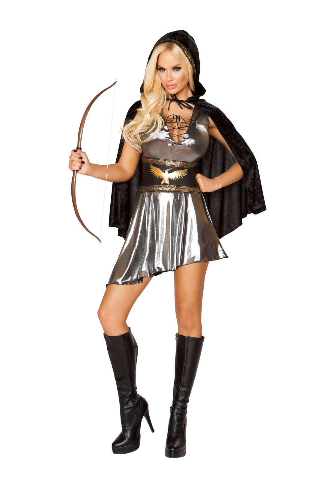 10110 - Confidential Society 3pc Huntress Costume