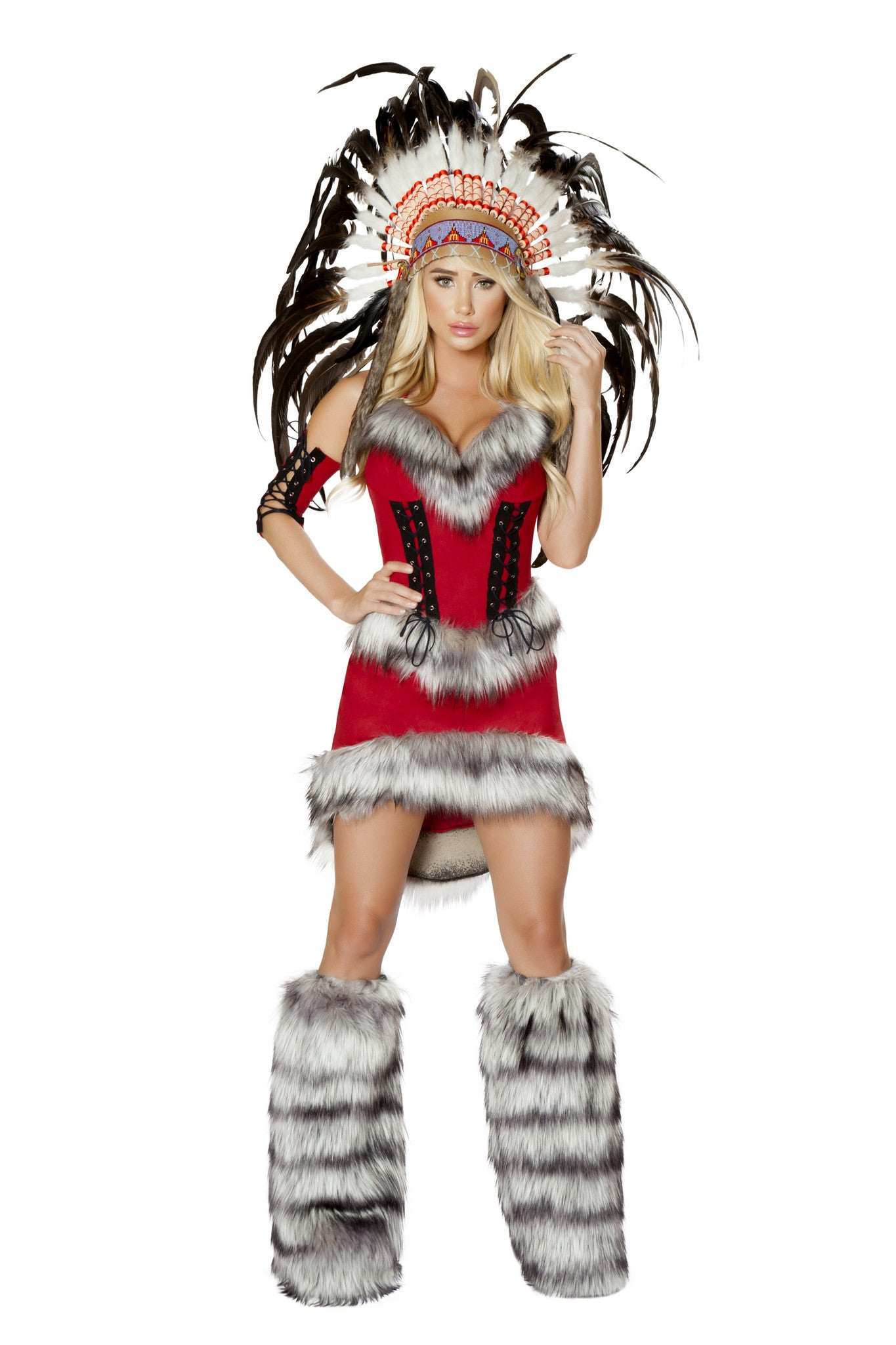 4705 - 3pc Native American Babe