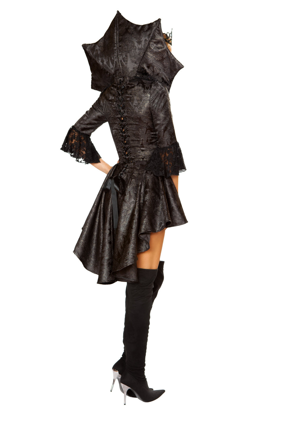 4785 - 4pc Queen of Darkness ${description} | Roma Costume and Roma Confidential wholesale manufacturer of Women Apparel bulk world wide wholesale and world wide drop ship services for Adult Halloween Costumes, Sexy and Elegant Lingerie, Rave Clothing, Club wear, and Christmas Costumes. Costumes, Roma Costume, Inc., Roma Costume, Roma Confidential, Wholesale clothing, drop ship, drop ship service, Wholesale Lingerie, Wholesale Adult Halloween Costumes, Rave Clothing, EDM Clothing, Festival Wear, Christmas Costumes, Clubwear, Club wear.