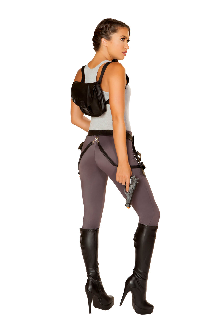 4847 - Roma Costume 5pc Cyber Adventure Tomb Raider Lara Croft