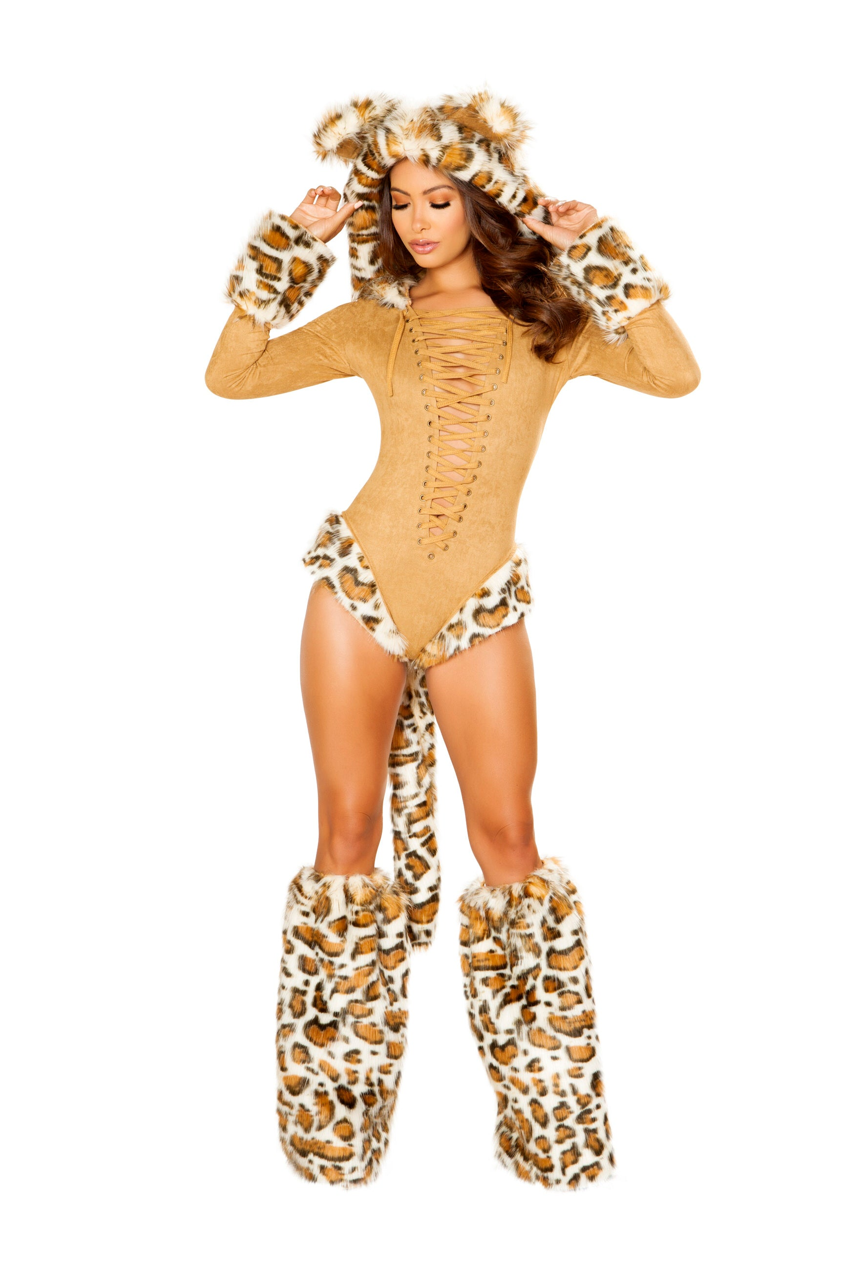4874 - Roma Costume 1pc Leopard Princess