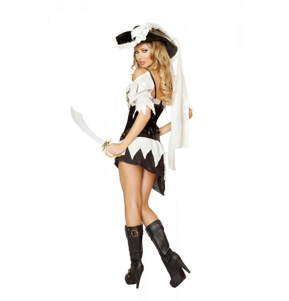 4528 - 5pc Sexy Shipwrecked Sailor Costume  sc 1 st  Roma Costume & 4528 5pc Sexy Shipwrecked Sailor Costume   wholesale manufacturer ...