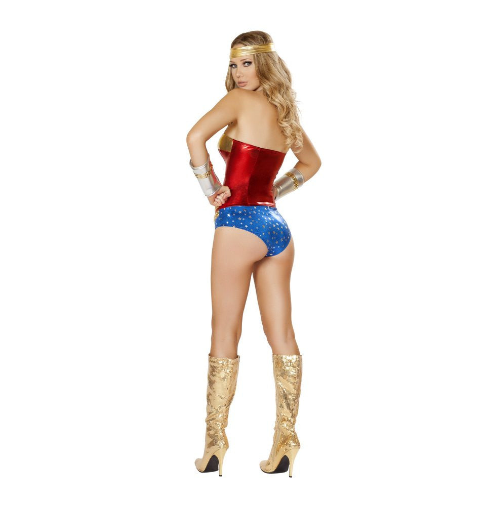 4485 - 2pc Superhero Hottie Costume ${description} | Roma Costume and Roma Confidential wholesale manufacturer of Women Apparel bulk world wide wholesale and world wide drop ship services for Adult Halloween Costumes, Sexy and Elegant Lingerie, Rave Clothing, Club wear, and Christmas Costumes. New Products,Costumes,2014 Costumes, Roma Costume, Inc., Roma Costume, Roma Confidential, Wholesale clothing, drop ship, drop ship service, Wholesale Lingerie, Wholesale Adult Halloween Costumes, Rave Clothing, EDM Clothing, Festival Wear, Christmas Costumes, Clubwear, Club wear.