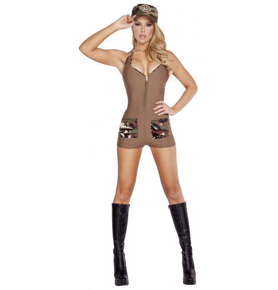 4590 2pc Sultry Soldier - Roma Costume Costumes,New Arrivals,New Products - 1
