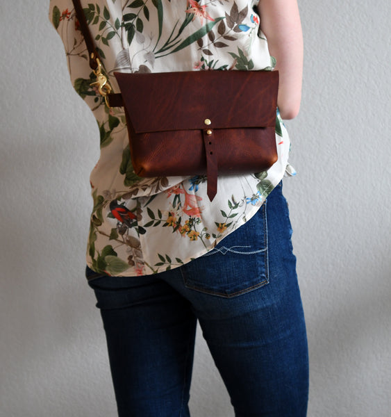 Extra Large Bogotá Hip Bag - Rustic Red