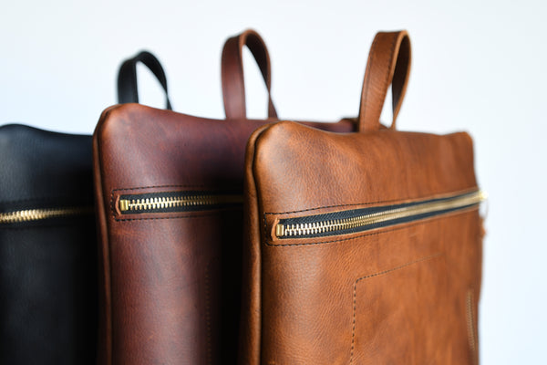 All Leather Daypack