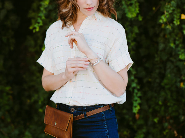 Hip Bag, Fanny Pack - Wild Honey