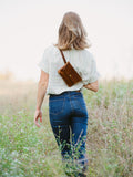 Hip Bag, Fanny Pack - Rustic Red
