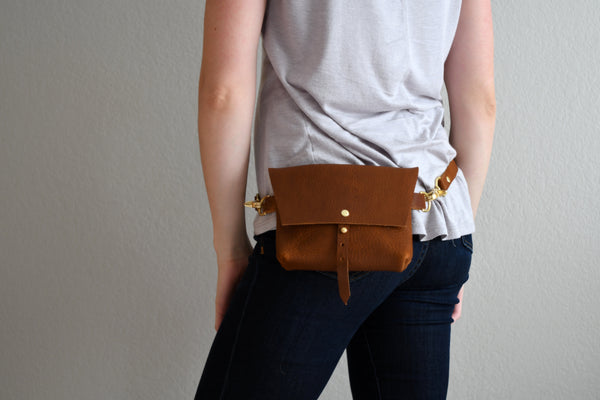 The Bogotá Hip Bag - Wild Honey