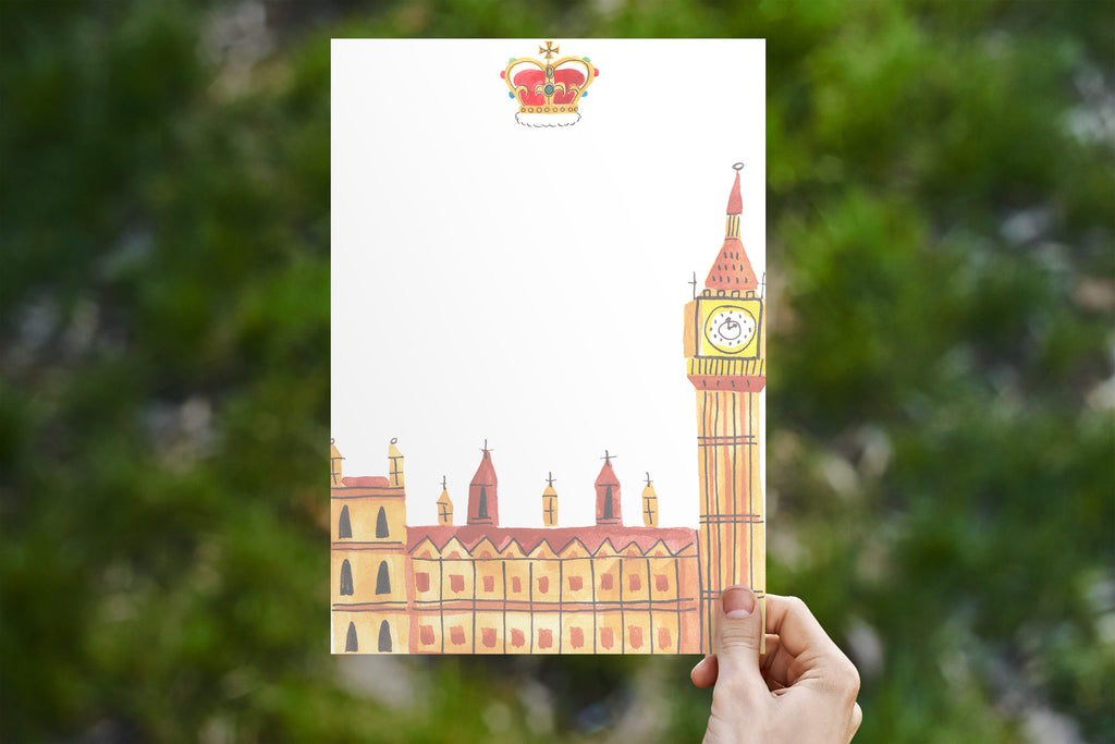 Big Ben Tower of London Stationery