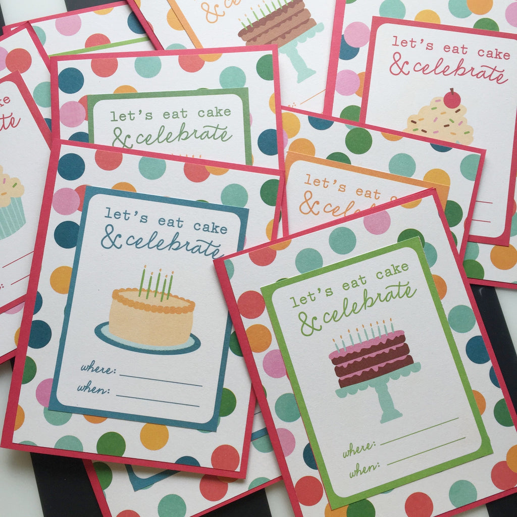 Birthday Party Invites | Dara Lorraine Stationery