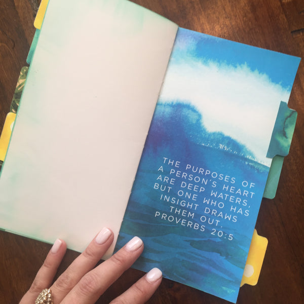 Faith Journal - Deep Waters