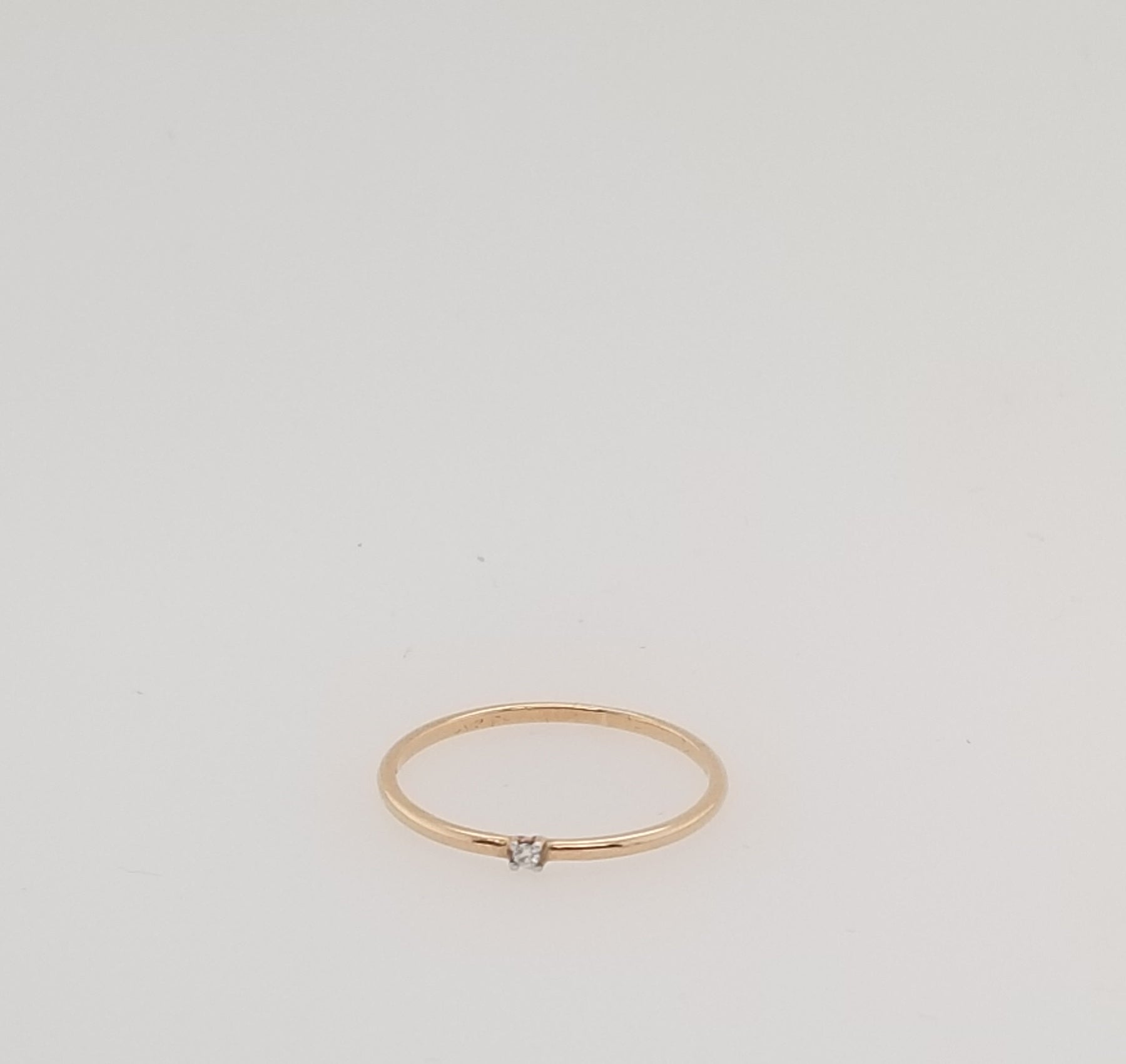 Gold & Diamond Ring E