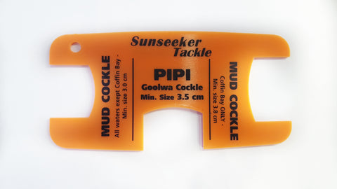 Sunseeker Tackle Cockle PIPI Measure