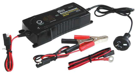 Power Train Battery Charger - 7 Stage Charging System